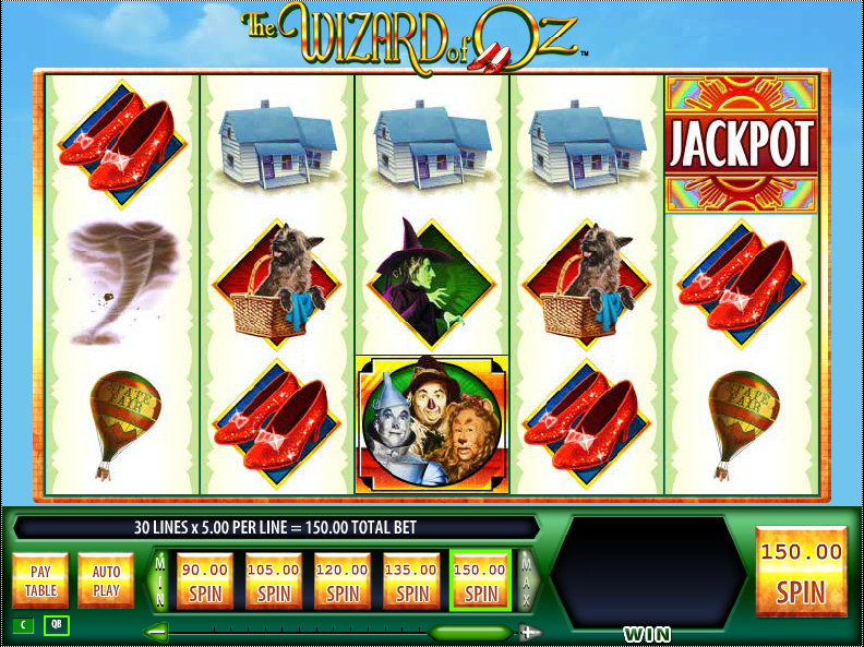 Play wizard of oz slots online downstream casino poker room