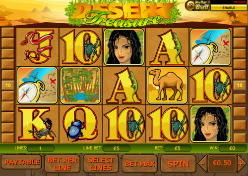 desert treasure slot