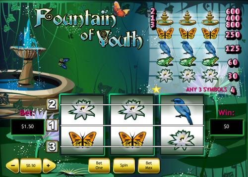fountain of youth screenshot