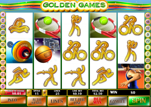 golden games screenshot