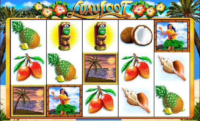 Luau Loot WMS Gaming Online Slot Machine for Real Money