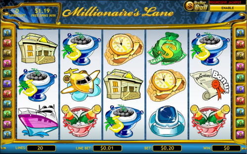 millionaires lane screenshot