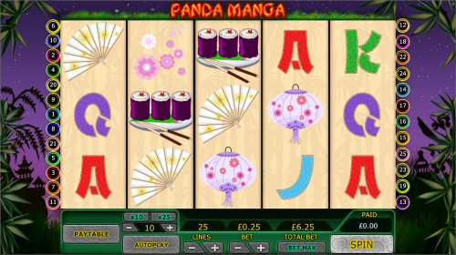 Panda Manga Slots - Play for Free Online with No Downloads