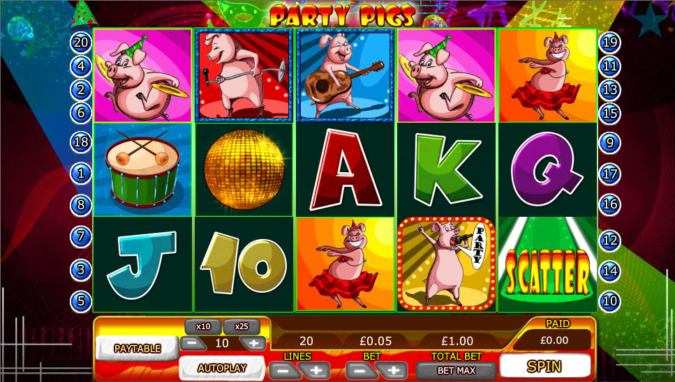 party pigs slot
