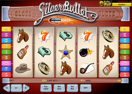 Play Silver Bullet Online Slots at Casino.com UK