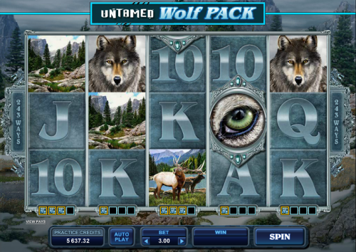 untamed wolf pack screenshot
