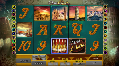 Viva lItalia Slot Machine - Free to Play Online Casino Game