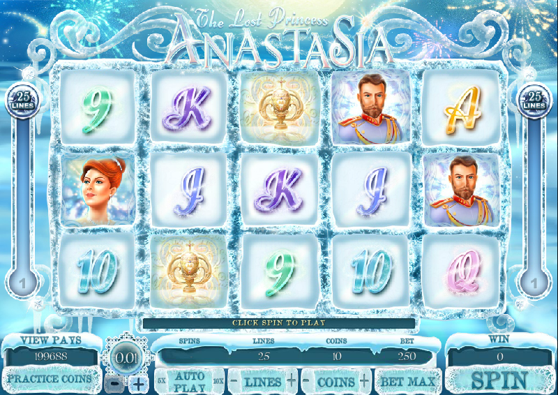 The Lost Princess Anastasia Slot - Play Penny Slots Online