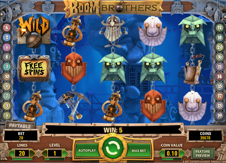 Gold Boom Slot - Review & Play this Online Casino Game
