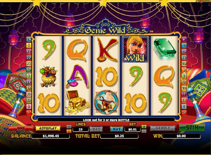 genie wild screenshot