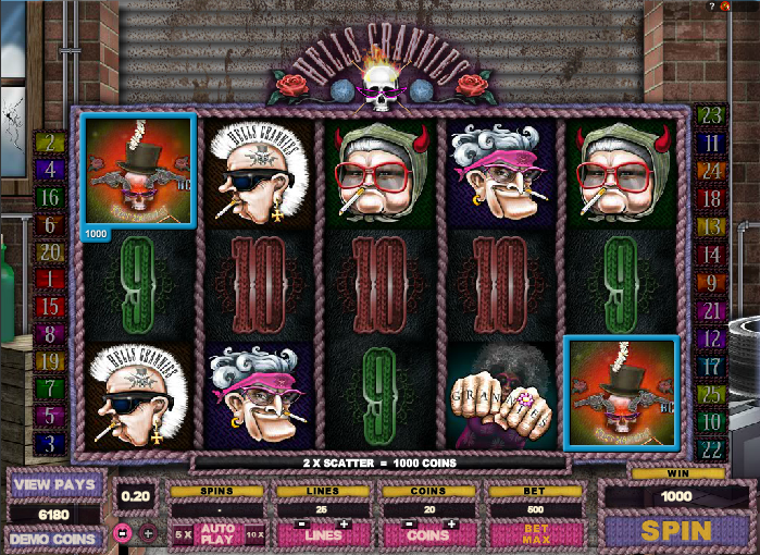 hells grannies screenshot