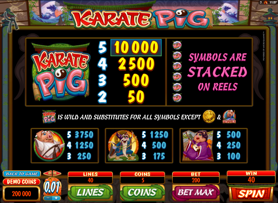 online slot machines for fun when pigs fly