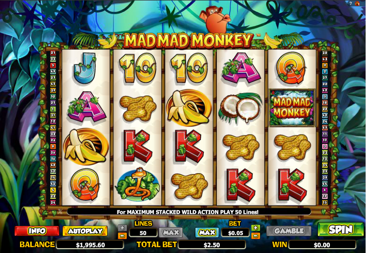 mad mad monkey screenshot
