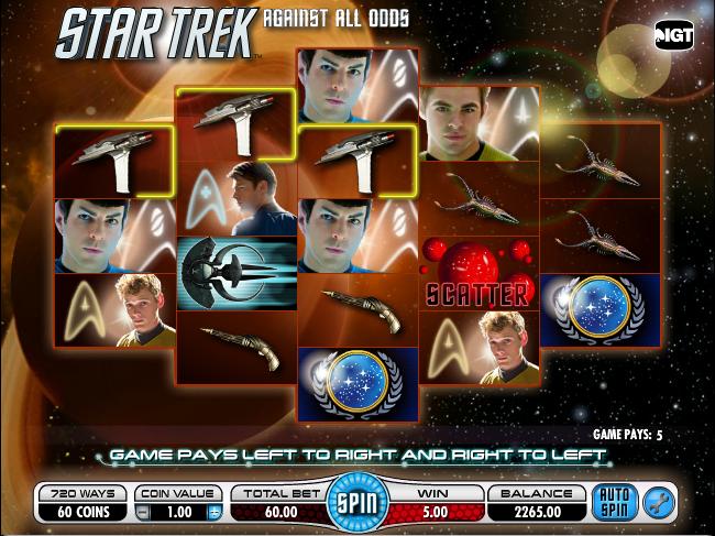 Star Trek Slots Online and Real Money Casino Play