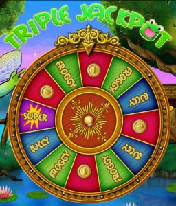 super lucky frog wheel