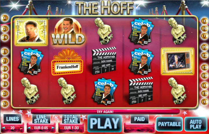 the hoff screenshot