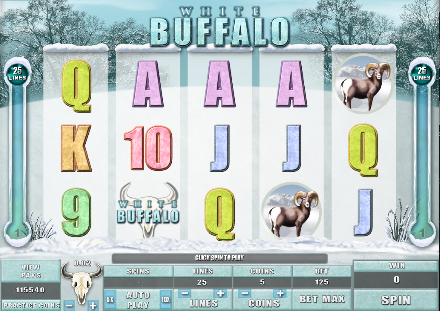 White Buffalo™ Slot Machine Game to Play Free in Microgamings Online Casinos