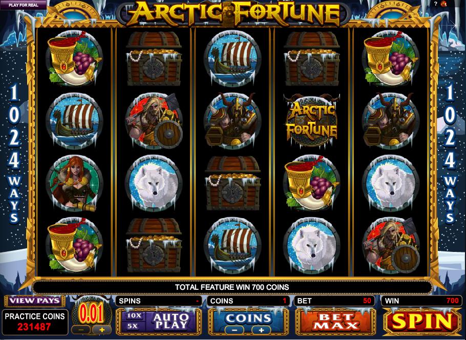 arctic fortune slot