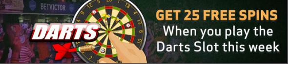 bet victor darts promo