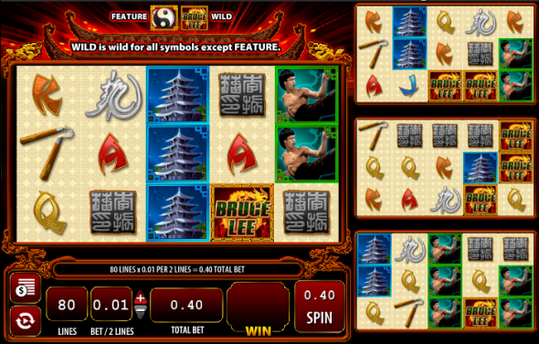 Bruce Lee - A Dragons Tale WMS Online Slots for Real Money