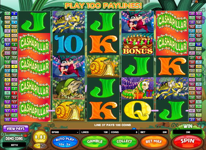 Cashapillar slot review bahamas hotels with casinos