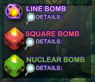 cubis bombs