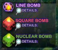 cubis bombs