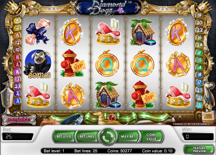 Spiele Diamond Dogs - Video Slots Online