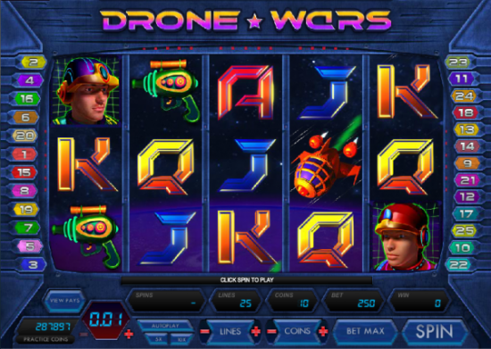 Space Adventure Slots - Play the Free Casino Game Online