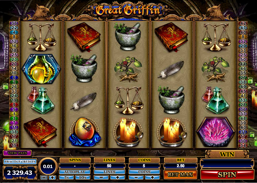 Great Griffin slots - Recension & casinospel online