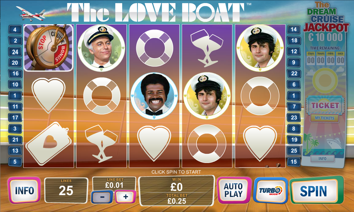 The Love Boat Slot Review & Free Play Game