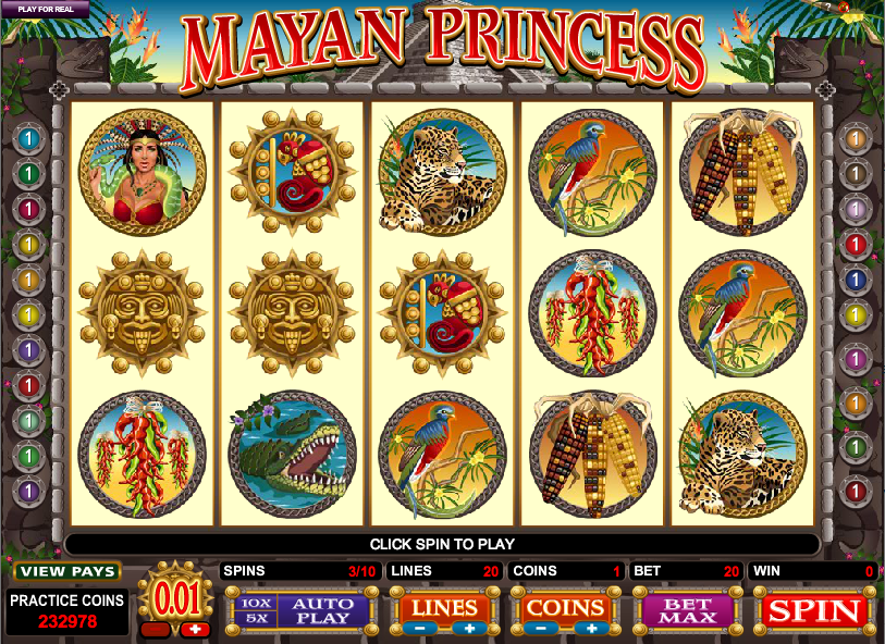 mayan princess screenshot