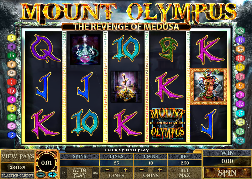 Mount Olympus Slot Machine - Play this Video Slot Online