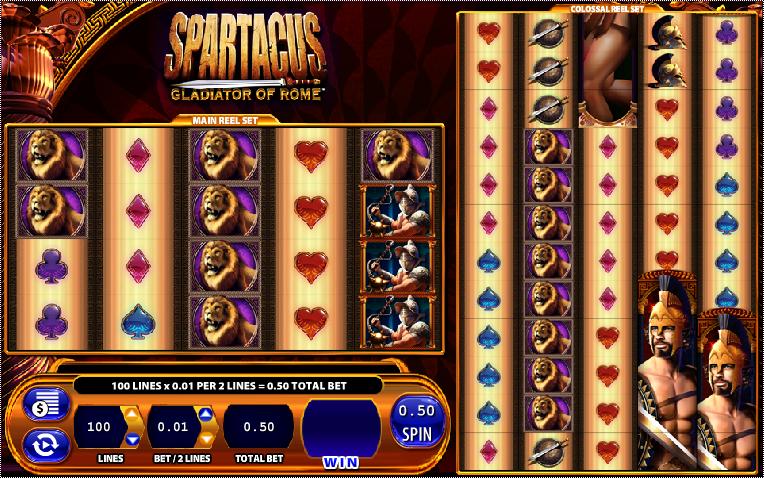 Free slot games spartacus