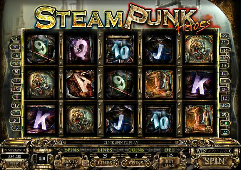 steam punk slot