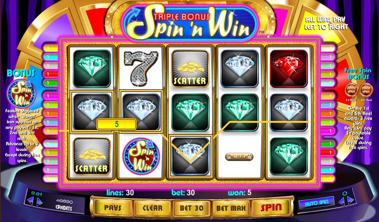 bonus online casino slots n games
