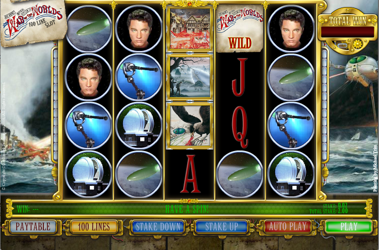 war of the worlds slot
