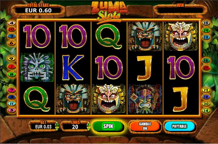 Zuma Slots How To Play