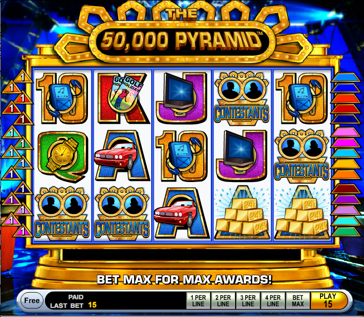 the 50000 pyramid screenshot