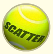 centre court scatter