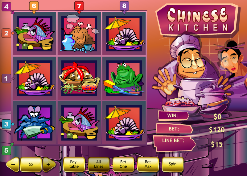 Play the Chinese Kitchen Online Slots at Casino.com UK