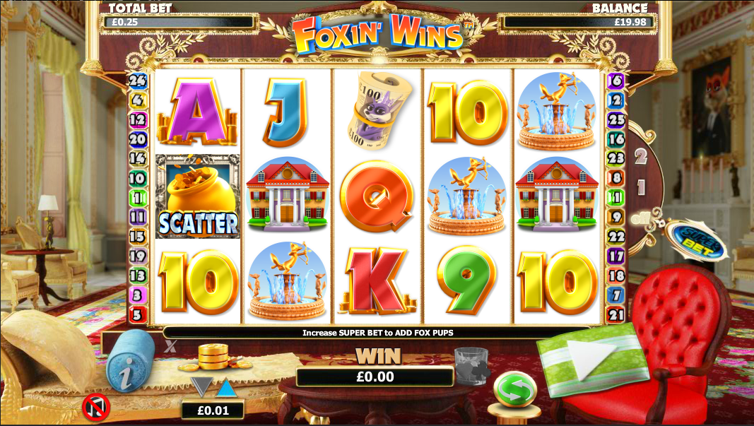 uk casino slot wins