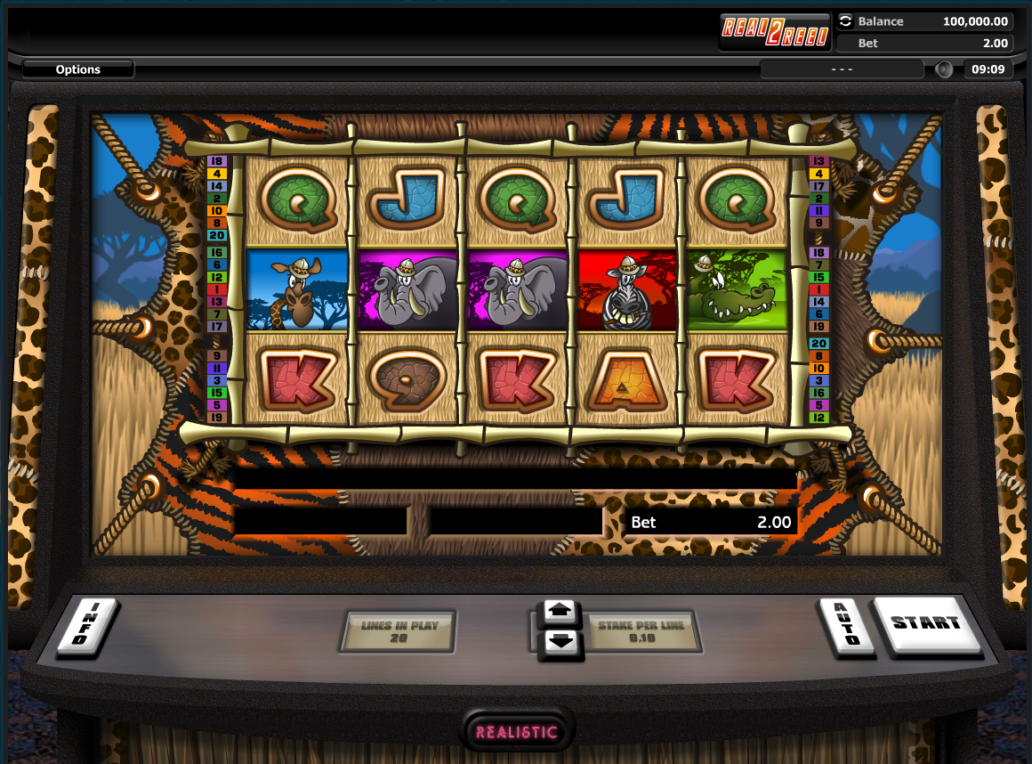 Go Wild On Safari Slot Machine - Play Online for Free Money