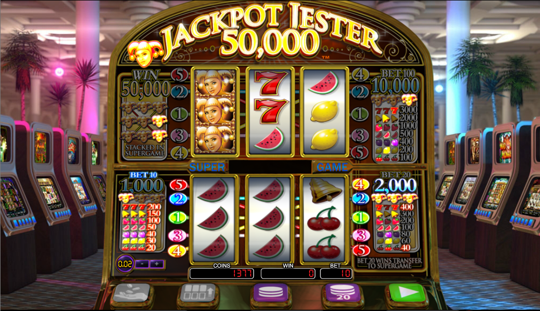 Jackpot Jester 50,000 - play it now at Casumo