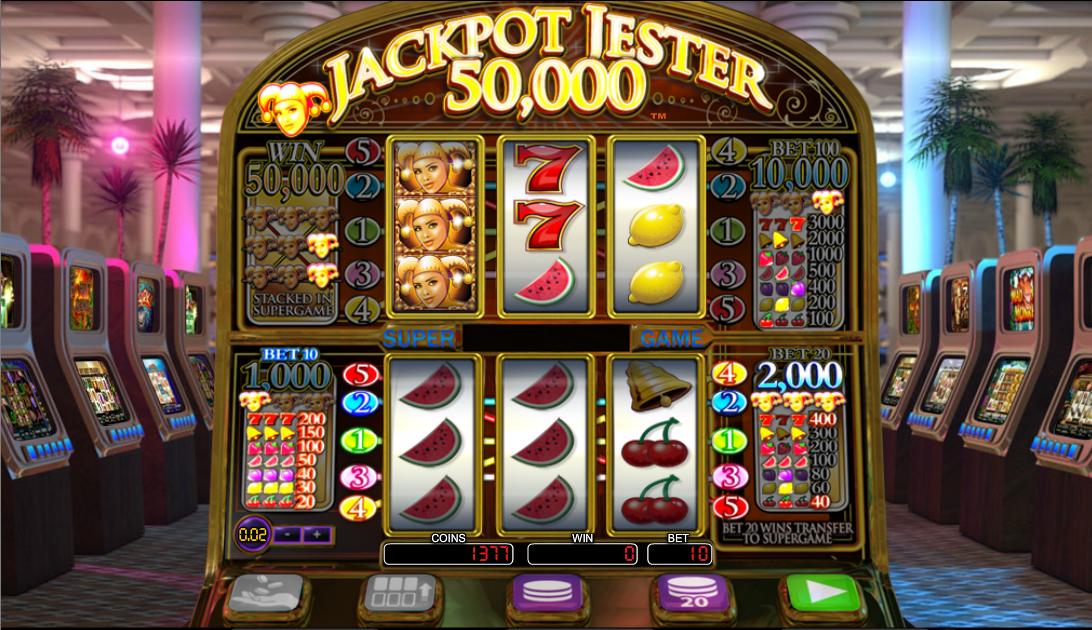 jackpot jester 50000 slot