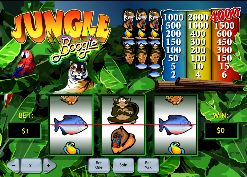 jungle boogie screenshot