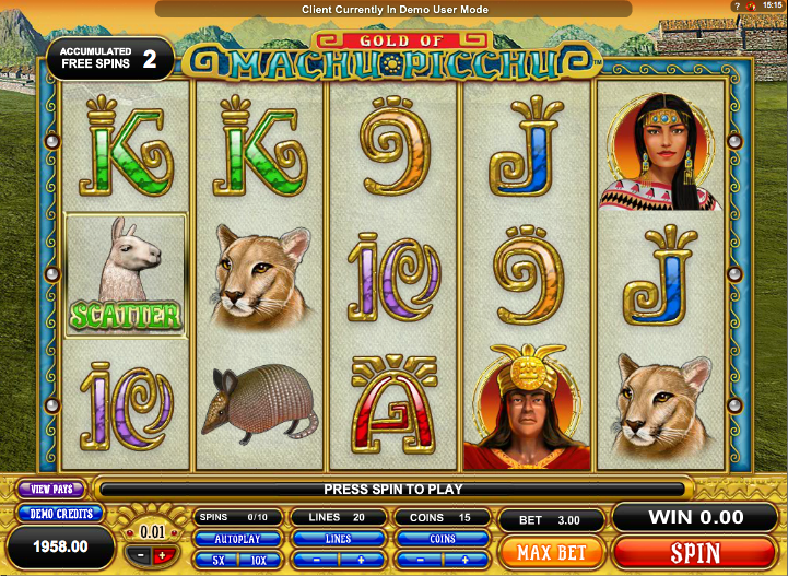 Spiele Machu Picchu Gold - Video Slots Online