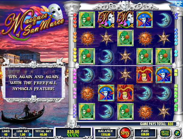 masques of san marco screenshot
