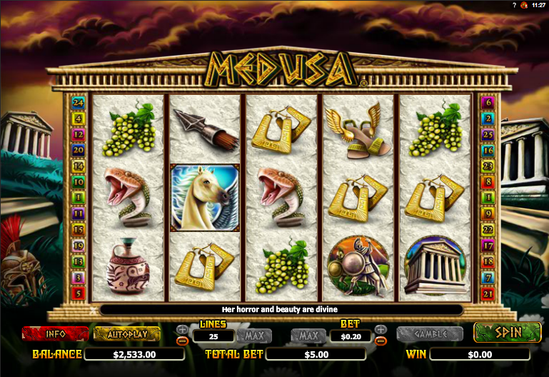 Medusa Slot Machine Online ᐈ NextGen Gaming™ Casino Slots