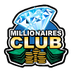 millionaires club scatter